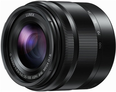 Объектив Panasonic 35-100mm (H-FS35100) Black