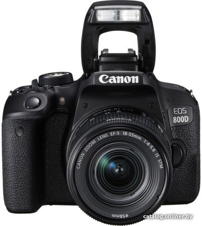 Цифровой фотоаппарат Canon EOS 800D Kit 18-55 IS STM