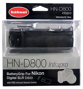Батарейный блок Hahnel HN-d800 battery grip  Nikon d800