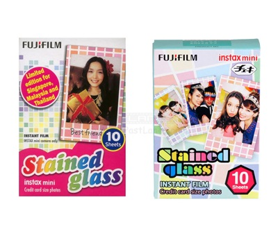 Пленка Fujifilm Instax Mini Stained Glass (10 шт.)