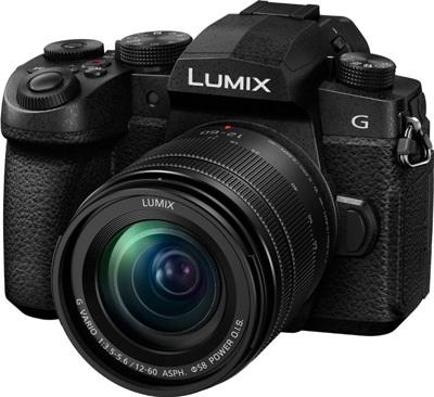 Цифровой фотоаппарат Panasonic Lumix DC-G90MEE-K Kit 12-60mm Black